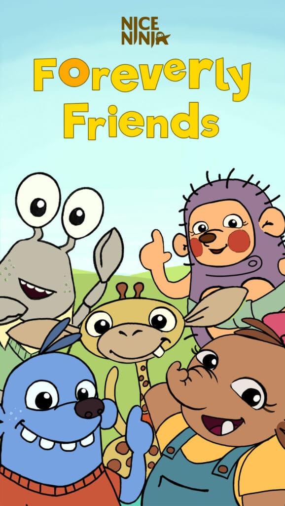 Foreverly Friends TV serie - Nice Ninja